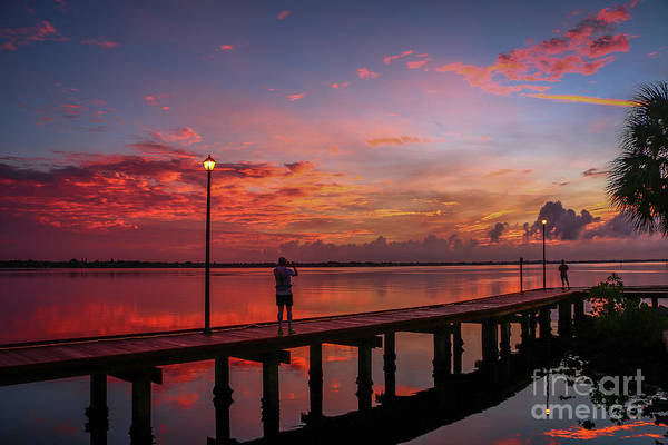 Photograph - Boardwalk Dawn by Tom Claud