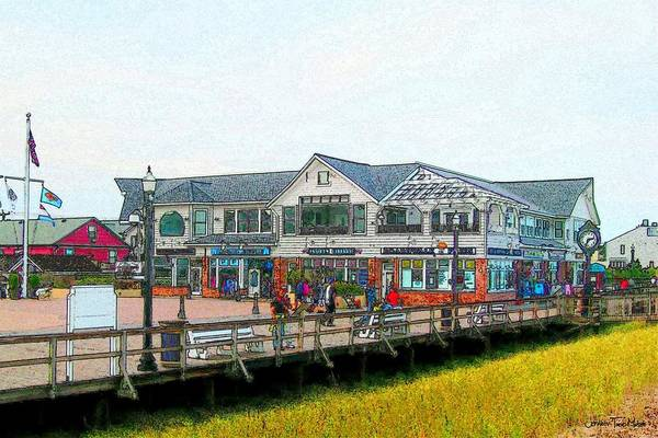 Delaware Photograph - Boardwalk Fries by Jeffrey Todd Moore