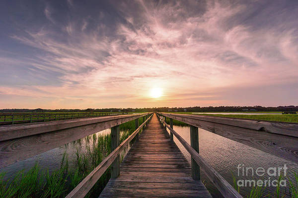 Wall Art - Photograph - Boardwalk On The Marsh by DiFigiano Photography