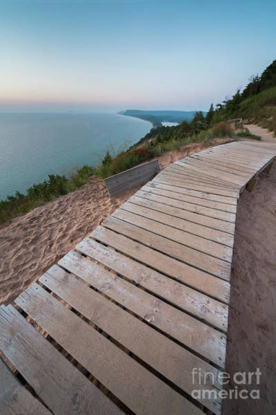 Wall Art - Photograph - Boardwalk Over Empire Bluff by Twenty Two North Photography