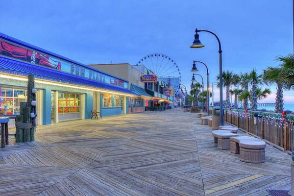 Photograph - Boardwalk by Ree Reid