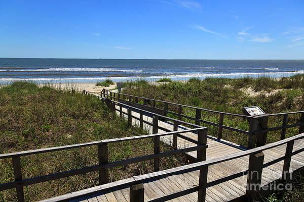 Photograph - Boardwalk To The Beach by Jill Lang