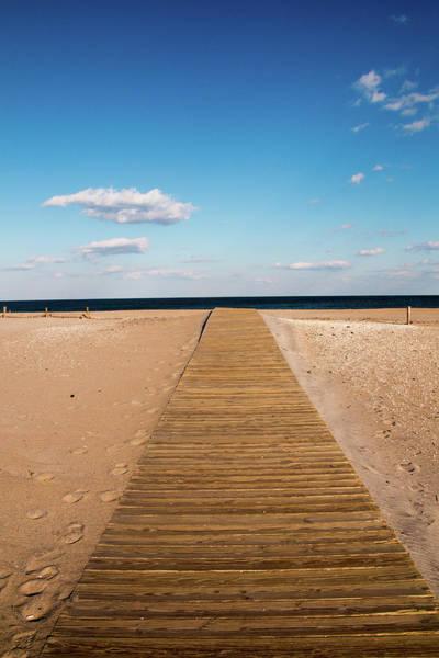 Photograph - Boardwalk To The Ocean by Kristia Adams