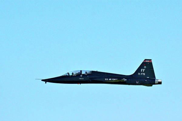 Photograph - Boa's T-38 Fini Flight #1 by Don Mercer