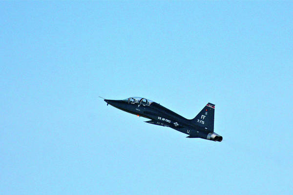 Photograph - Boa's T-38 Fini Flight #2 by Don Mercer