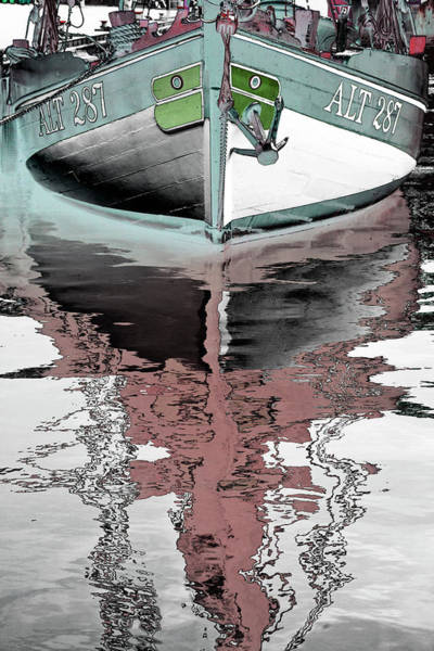 Photograph - Art Print Boat 1 by Harry Gruenert