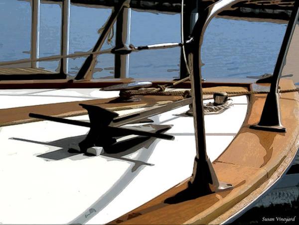 Photograph - Boat Anchor by Susan Vineyard