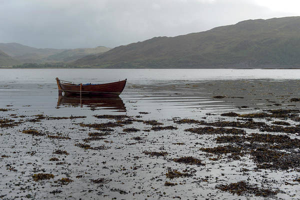 Photograph - Boat And Seaweed In Isle Of Skye, Uk by Dubi Roman