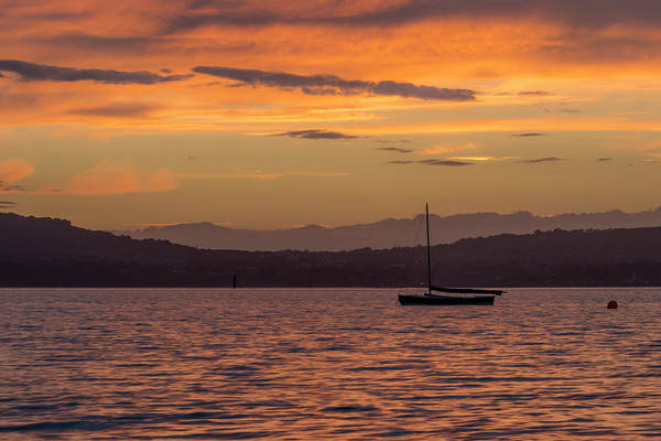 Wall Art - Photograph - Boat By Holywood by Glen Sumner