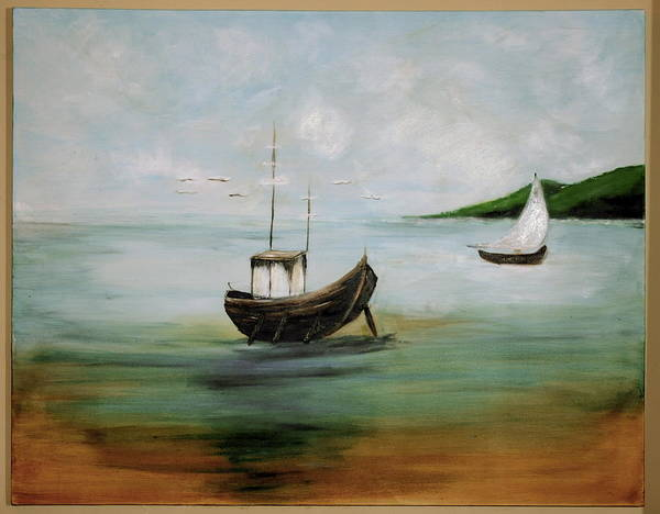 Wall Art - Painting - Boat  by Cristina Sofineti