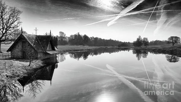 Maynooth Photograph - Boat House 2 by Michael Grubka