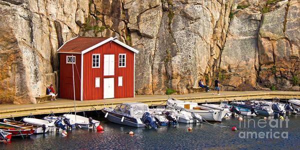 Photograph - Boat House by Lutz Baar