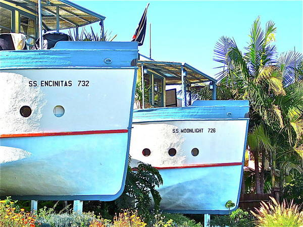 Photograph - Boat Houses  by Bridgette Gomes