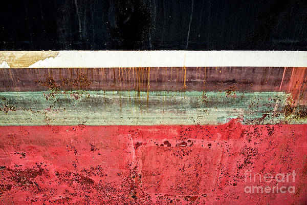 Wall Art - Photograph - Boat Hull by Delphimages Photo Creations