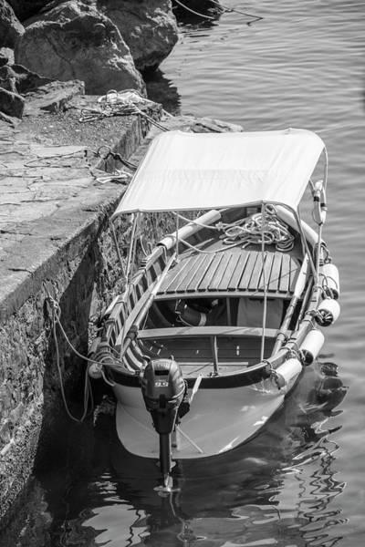 Photograph - Boat In Cinque Terre Riomaggiore by John McGraw
