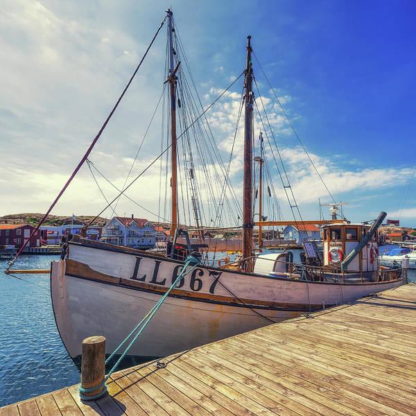 Photograph - Boat In Smogen by James Billings