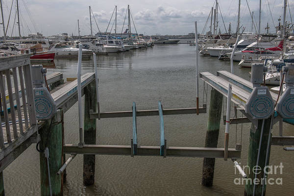 Photograph - Boat Lift by Dale Powell