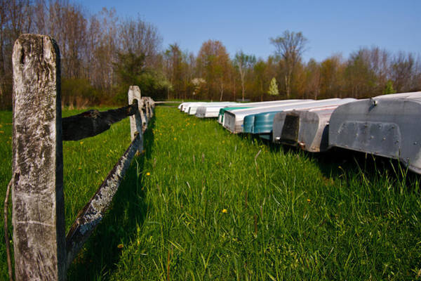 Photograph - Boat Line by James Reed
