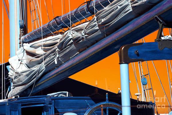 Wall Art - Photograph - Boat Mast Pop Art by John Rizzuto