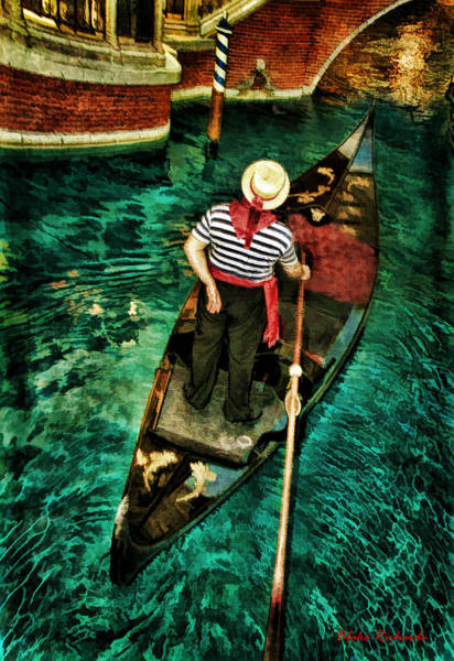 Photograph - Boat Of Venice by Blake Richards