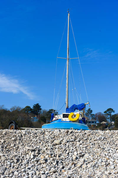 Photograph - Boat On Beach by Colin Rayner