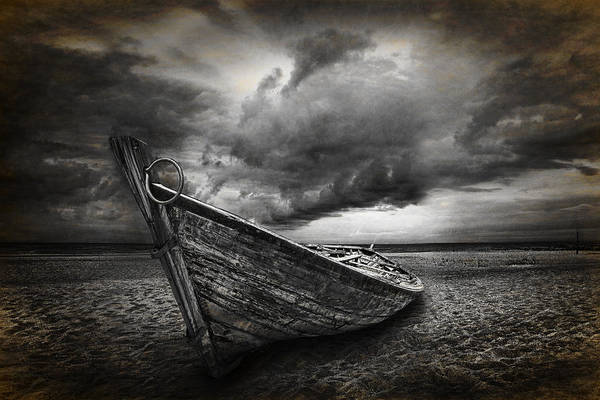 Photograph - Boat On The Beach by Randall Nyhof