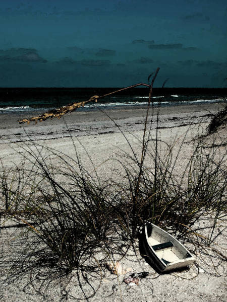Photograph - Boat On The Beach by Randy Sylvia