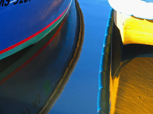 Photograph - Boat Reflection by Juergen Roth