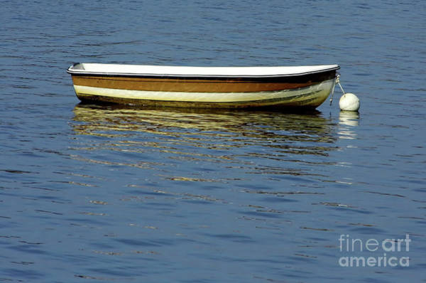 Photograph - Boat Reflections On Lake Sumter by D Hackett