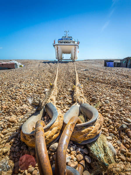 Photograph - Boat Ropes. by Gary Gillette