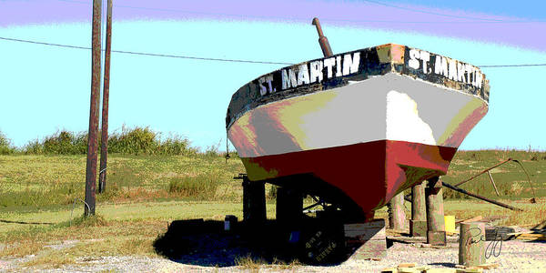 Wall Art - Photograph - Boat Series 1 St. Martin by Paul Gaj