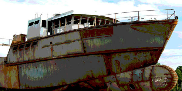 Wall Art - Photograph - Boat Series 7 Vantage Bayou La Batre by Paul Gaj