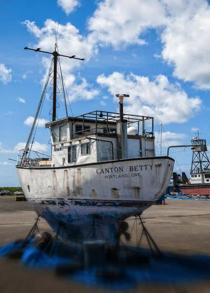 Photograph - Boat Yard by Robert Potts