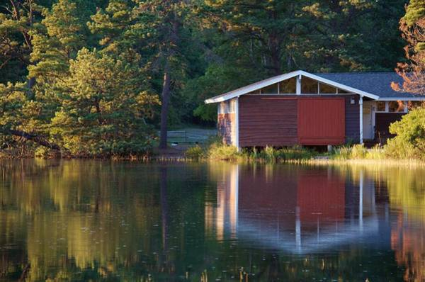 Cachalot Wall Art - Photograph - Boathouse by Dennis Wilkinson