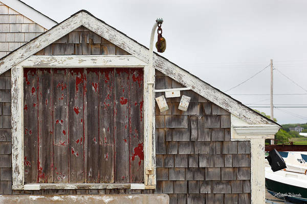 Hyannis Photograph - Boathouse Hyannis Massachusetts by Michelle Constantine