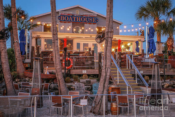 Photograph - Boathouse Restaurant by Tom Claud