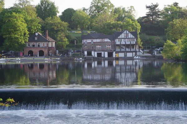 Photograph - Boathouse Row In May by Bill Cannon