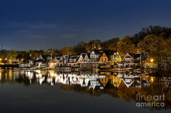 Pennsylvania Photograph - Boathouse Row by John Greim