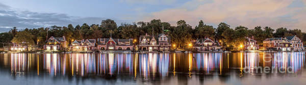 Wall Art - Photograph - Boathouse Row Lftc by Stacey Granger