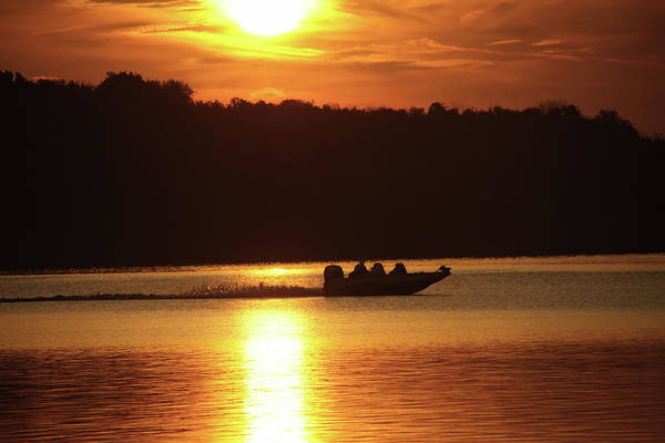 Photograph - Boating At Deer Creek by Mike Murdock