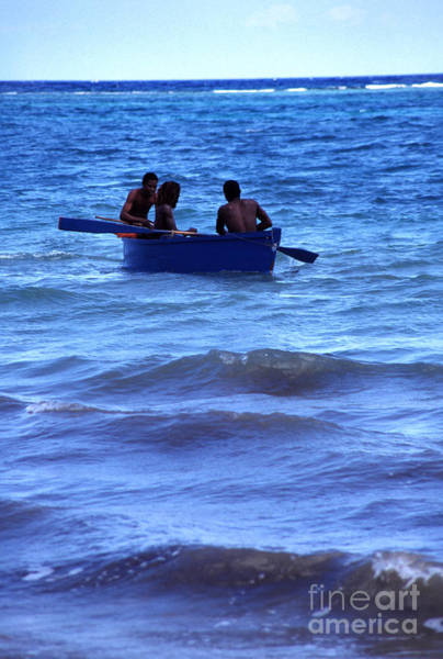 Photograph - Boating Fun St Anns Bay Jamaica by Thomas R Fletcher