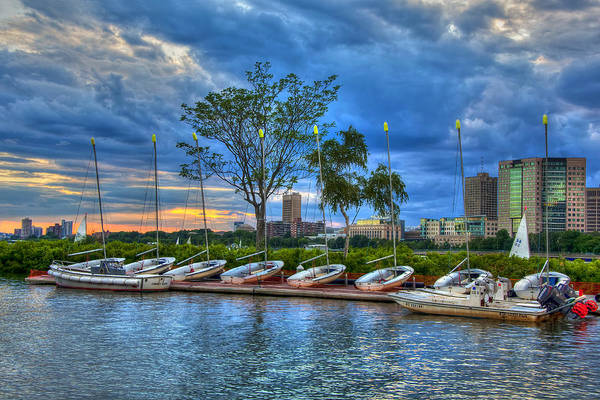 Wall Art - Photograph - Boating On The Charles River - Boston by Joann Vitali