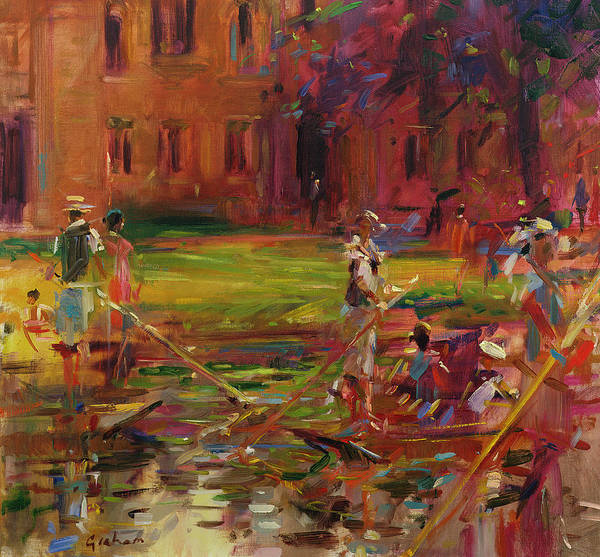 Punt Painting - Boating by Peter Graham