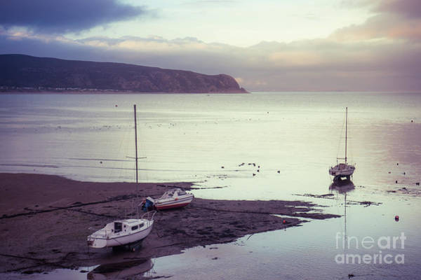 Photograph - Boats At Abersoch, Wales by Keith Morris