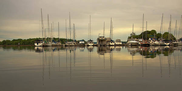 Photograph - Boats At Dusk by Tatiana Travelways