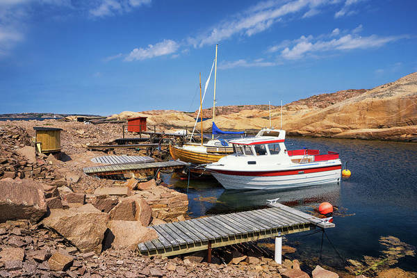 Photograph - Boats At Stangehuvuds by James Billings