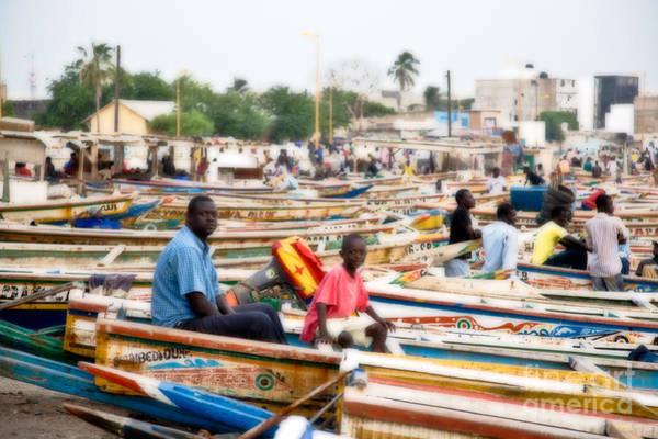 Dakar Photograph - Boats Boats Boats by Irene Abdou