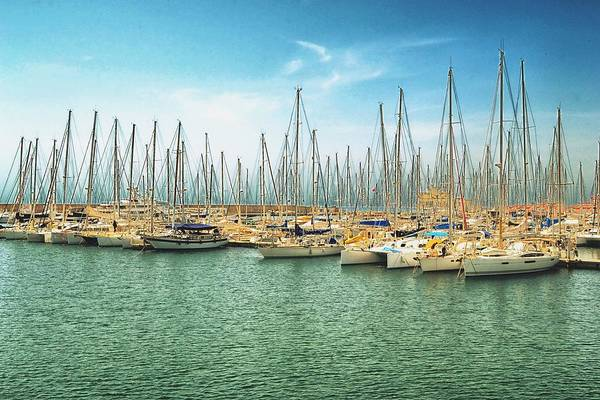 Hammamet Photograph - Boats Harbor by Aymen Ounissi