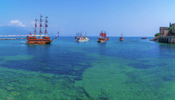 Photograph - Boats In Alanya by Sun Travels