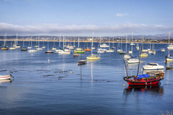 Monterey Bay Photograph - Colors Of Monterey Bay by Joseph S Giacalone